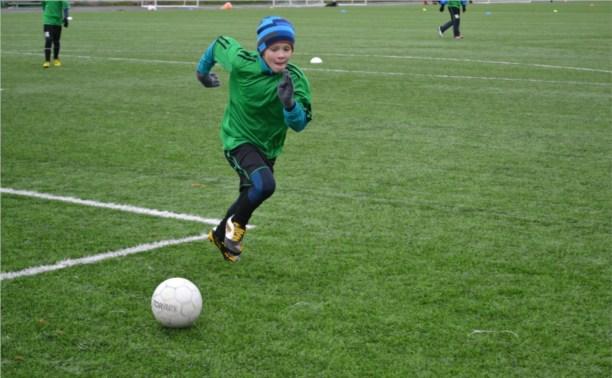 Юные футболисты «Арсенала» разгромили сверстников из Щёкино