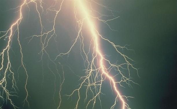 В Тульской области человека убило молнией