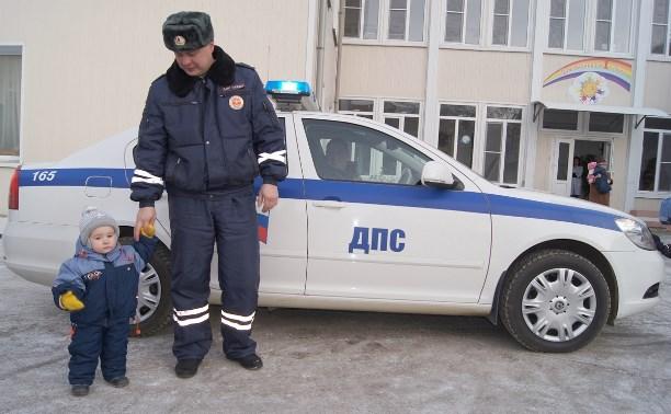 По улицам Тулы проехал «Детский патруль»