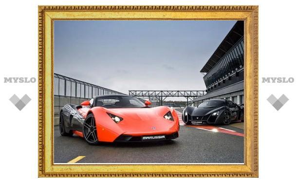 Российские спорткары Marussia начнут продавать в Великобритании