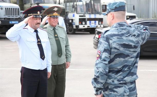 Тулу посетил помощник министра МВД