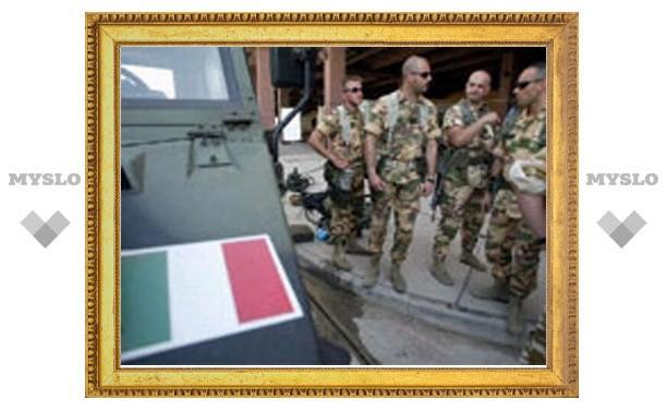 Итальянская разведка платила дань талибам