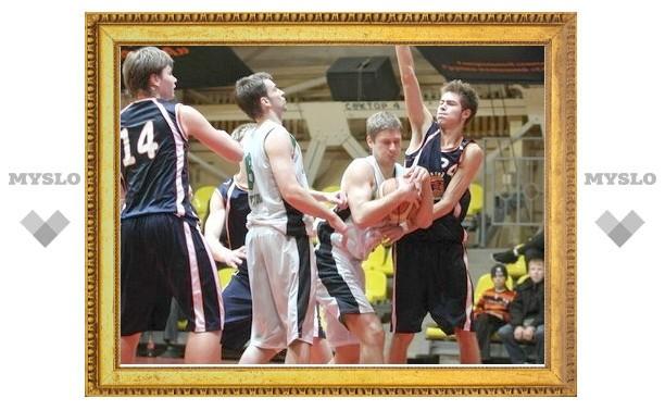Тульское баскетбольное дерби завершилось ничьей