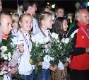 На Московском вокзале прошла торжественная встреча туляков-победителей Президентских спортивных игр