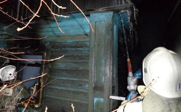 В Туле на пожаре погиб 30-летний мужчина