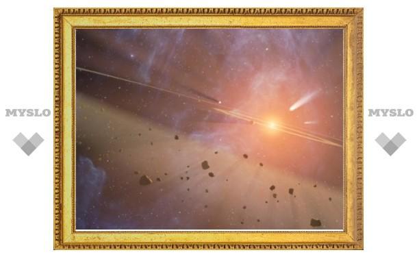 Часть земной атмосферы оказалась родом из космоса