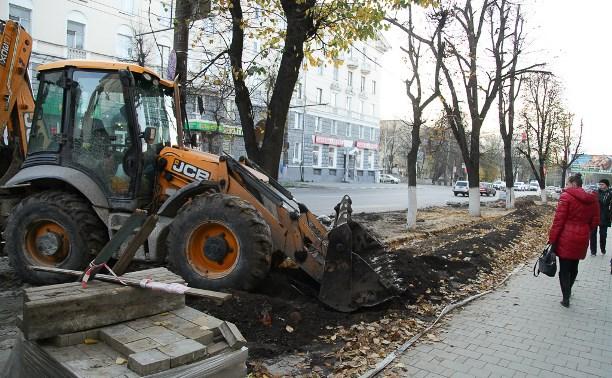 Незаконную парковку на Первомайской в Туле уберут за выходные