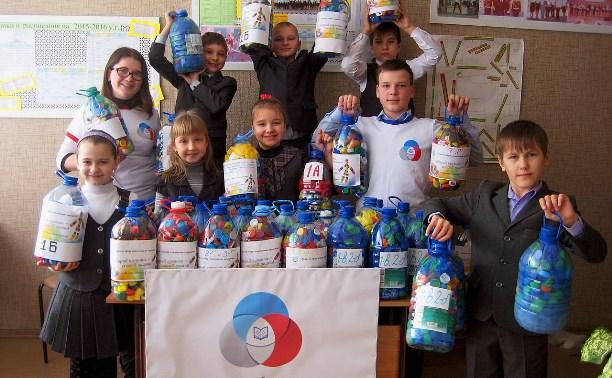 Проект «Добрые крышечки»: туляки могут сдать пластиковые крышки и помочь ребенку-инвалиду