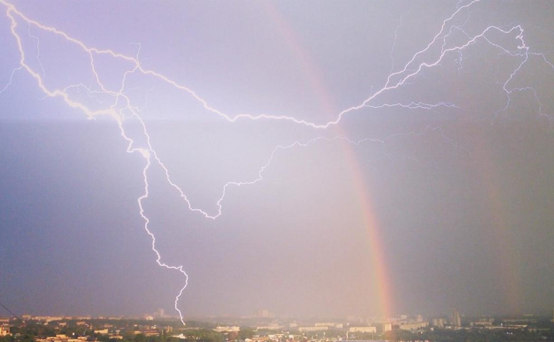 Погода в Туле 23 апреля: дожди с грозами, порывистый ветер