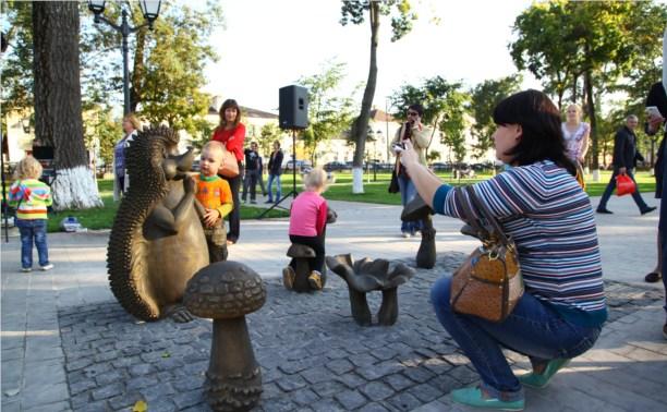 В Туле появилась новая скульптура