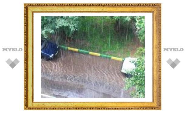 Погода в Туле капризничает по вине столицы?