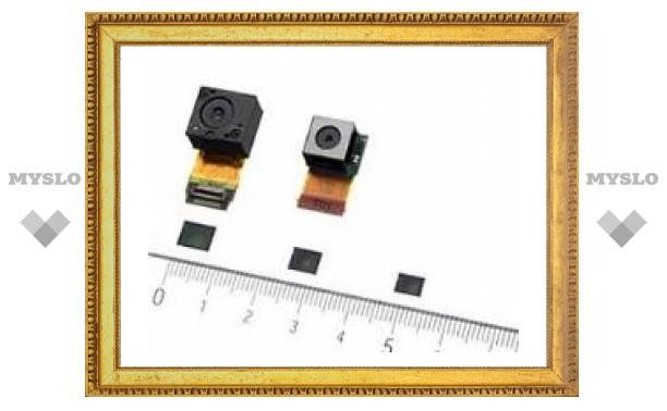 Sony анонсировала 12,25-мегапиксельную камеру для мобильника