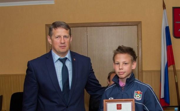Юные тульские футболисты стали победителями в первенстве Черноземья