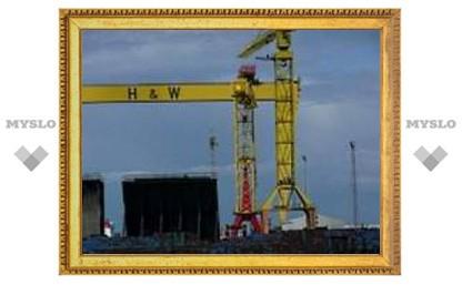 """Верфь, на которой построили """"Титаник"""", станет главной достопримечательностью Белфаста"""