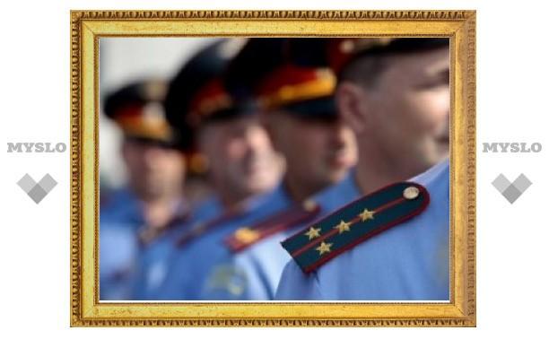 Тульские полицейские отмечают свой профессиональный праздник