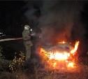 Ночью в Узловой сгорела Toyota RAV4