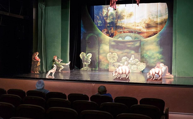Алексей Дюмин пообещал помочь Тульскому театру кукол