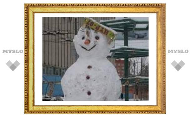 Самый крутой снеговик!
