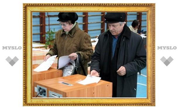 В Туле разместили самый большой в России баннер о выборах