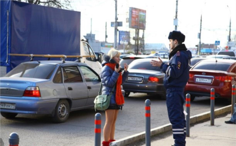 Тульская ГИБДД будет неделю отлавливать пешеходов-нарушителей