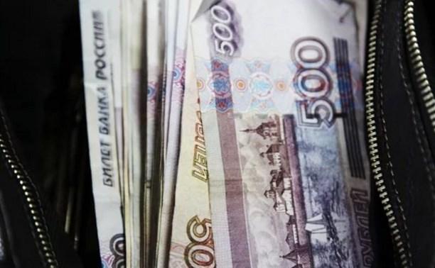 В Ефремовском районе мужчина украл у посетителя кафе 300 тысяч рублей