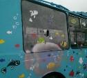 В троллейбусе на набережной Упы разбили стекло