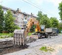 На улице Ф. Энгельса в Туле начались ремонтные работы