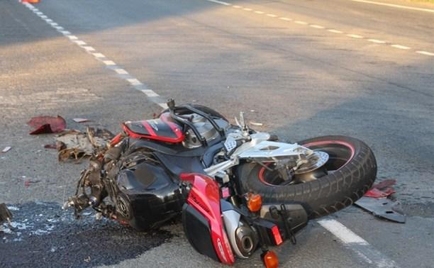 В Мясново легковушка сбила мотоциклиста