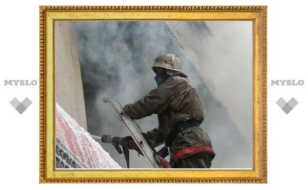 Под Тулой была спасена хозяйка сгоревшей квартиры