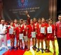 Тульские самбисты завоевали серебро  на международном турнире в Санкт-Петербурге