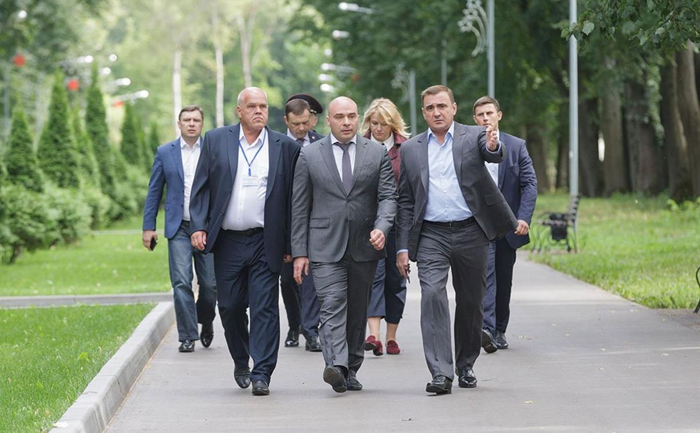 В Новомосковске обновили городской парк