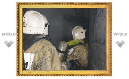 В Туле сгорел жилой дом