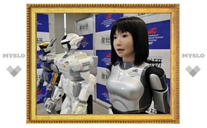 Японцы разработали робота-супермодель