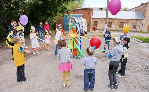 Тульские волонтёры устроили праздник для детей из Украины