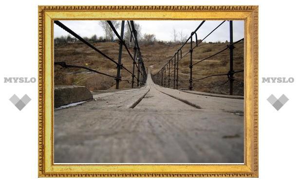 Ребенок упал с моста под Тулой