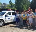 Инспекторы ГИБДД провели в Туле акцию для школьников