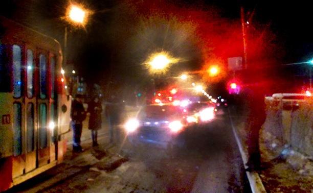 В Туле неизвестный водитель протаранил три машины и скрылся
