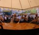 В Смоленской области на огромной сковородке из Тулы приготовили яичницу-рекордсменку