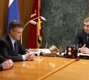 Алексею Дюмину представили нового главного инспектора труда в Тульской области