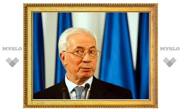 Азаров объявил газовый договор Тимошенко и Путина незаконным