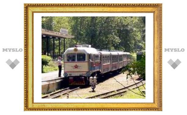 """Детская железная дорога под Тулой зовет прокатиться с """"Ветерком"""""""