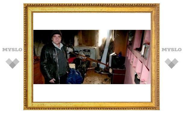 Жильцы взорвавшейся в Туле квартиры: «На нас падали горящие куски потолка»