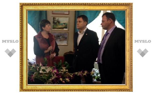 Губернатор решил развивать музей Дворяниново