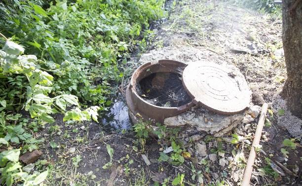 Жители поселка под Щекино тонут в мусоре и канализационных стоках