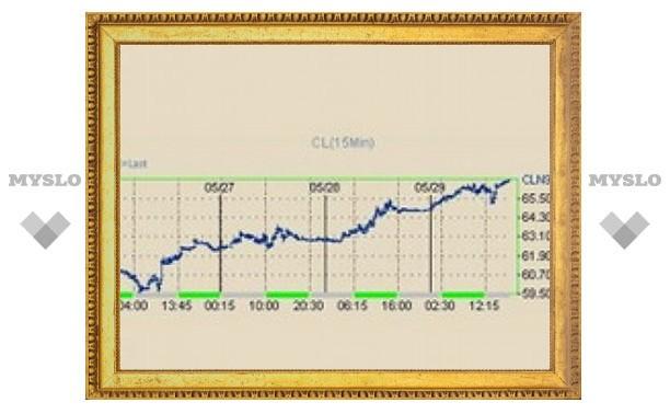 Цены на нефть за месяц выросли на 23 процента