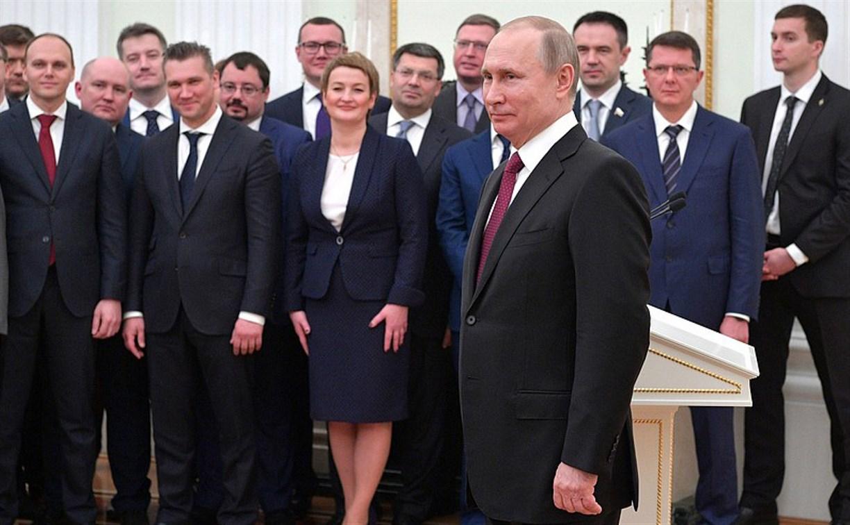 Зампред правительства Тульской области Валерий Шерин принял участие во встрече с Путиным