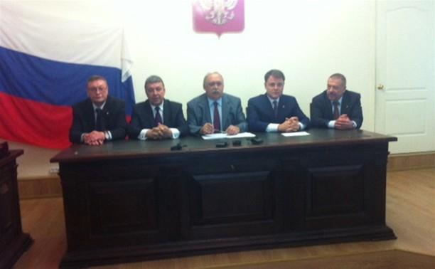 В Тульском областном суде представили нового председателя - Юрия Рябцова