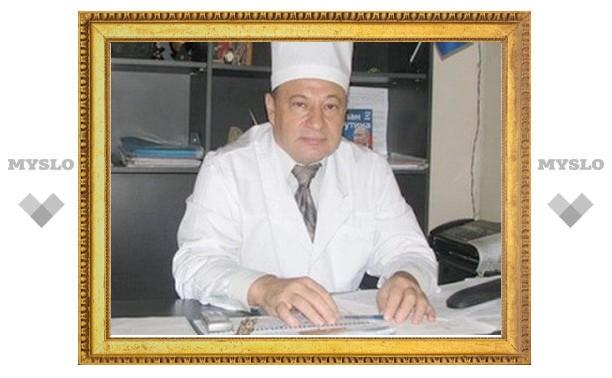 Министр здравоохранения Тульской области Юрий Цкипури в больнице с микроинфарктом