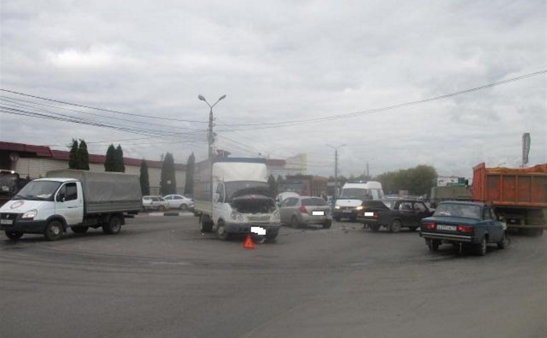 В Туле в авариях пострадали два человека