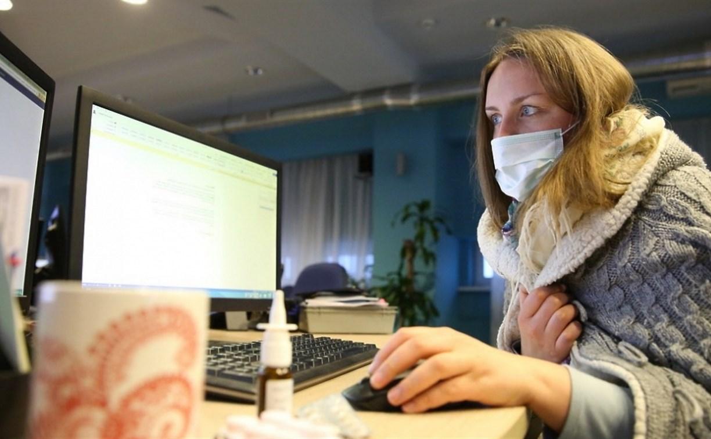 На удалённый режим работы из-за коронавируса перешли более 12 тысяч туляков